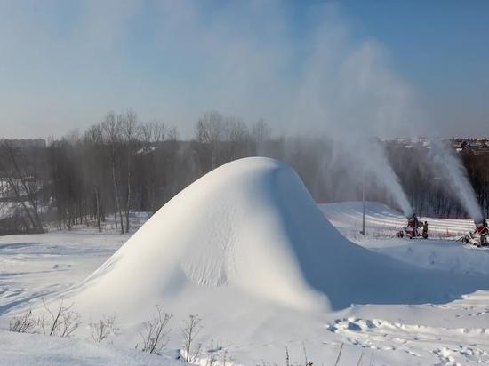 В Калуге построят снеговика высотой более 20 метров