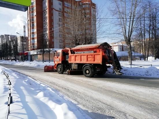 Из Йошкар-Олы вывезено около 88 000 кубов снега