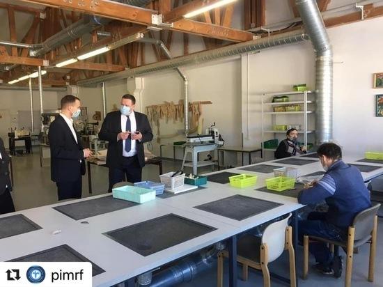 Министра труда и соцзащиты впечатлили интеграционные мастерские в Пскове