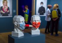 В галерее «Наши художники» в центре Москвы открылась выставка «Масочный режим»