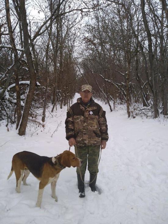На Ставрополье прошли состязания гончих собак по зайцу-русаку