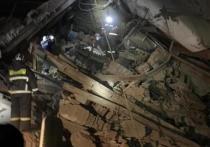 На территории Норильской обогатительной фабрики произошло обрушение в цехе, в результате чего пострадали четыре человека