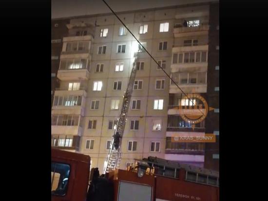 При пожаре в красноярском Солнечном погиб подросток