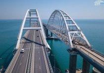 Все ограничения в работе Крымского моста сняли