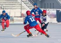 В Хакасии стартовало первенство России по хоккею с мячом