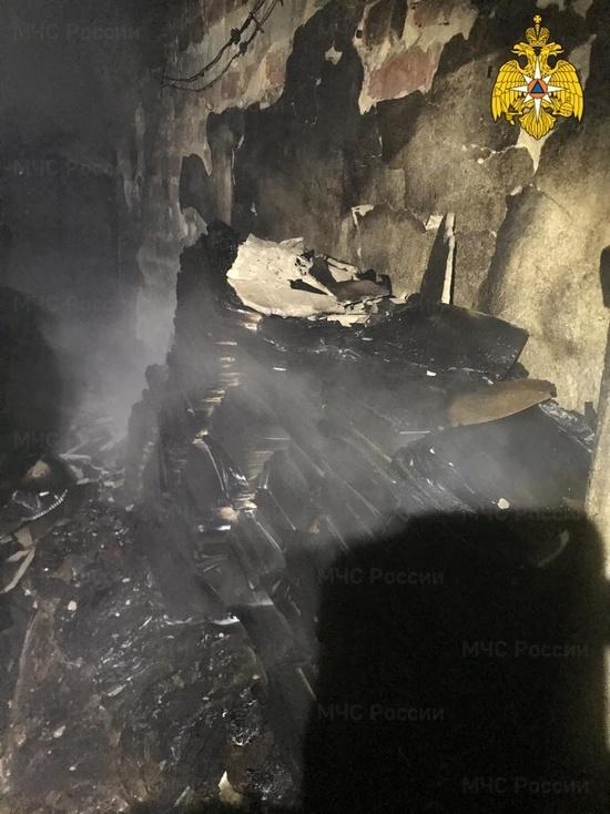 В Калуге на Салтыкова-Щедрина произошел очередной пожар