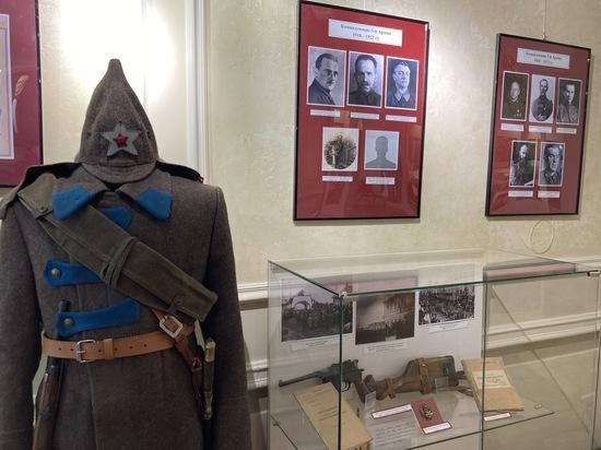 Выставка, посвящённая 5-й Армии, открылась в отделе истории музея имени Сибирякова