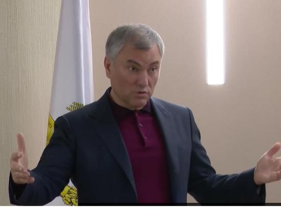 Володин объяснил, почему у саратовских врачей  низкая зарплата