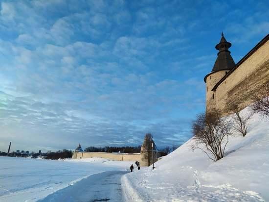 Мороз и солнце: Псковичи делятся в соцсетях фото красивых пейзажей
