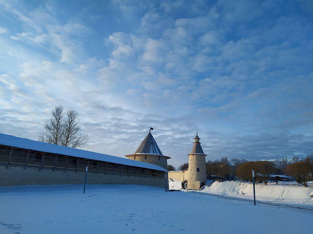 Мороз и солнце: Псковичи поделились самыми красивыми фотографиями