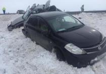 Грузовик врезался в патруль ДПС на Ставрополье