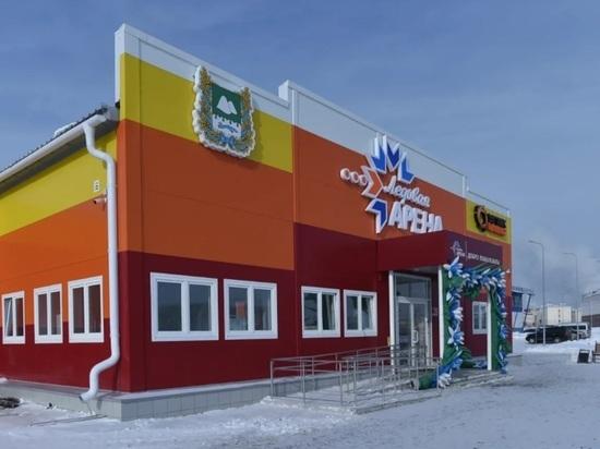 В Шадринске Шумков и Козицын открыли новую Ледовую арены