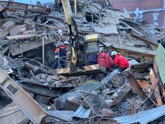 В Норильске завершены поисковые работы на месте рухнувшего цеха