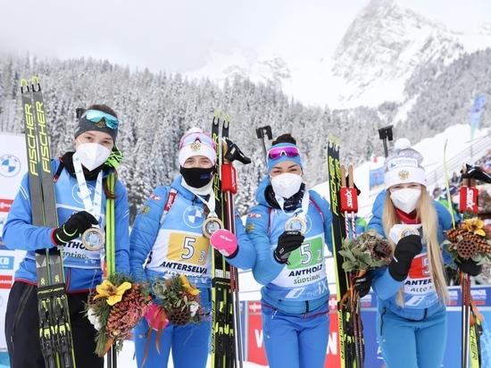 Один штрафной круг не позволил сборной России побороться за медаль в эстафете на чемпионате мира-2021