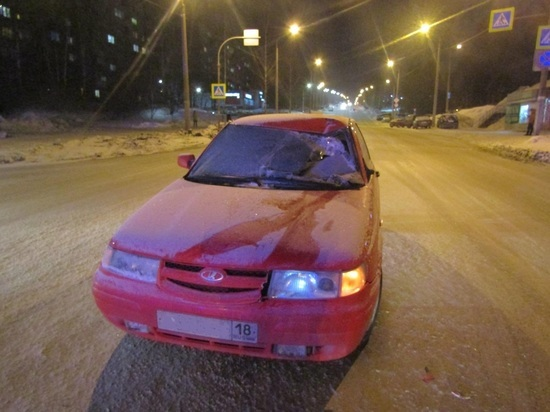 Ижевчанина на пешеходном переходе сбил ВАЗ 21123