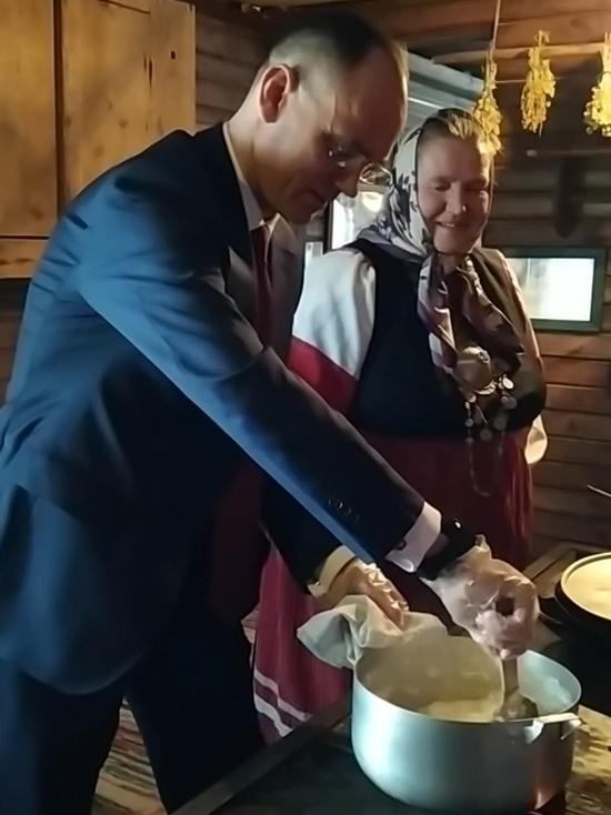 Сетосский сыр сварил замминистра просвещения под Псковом