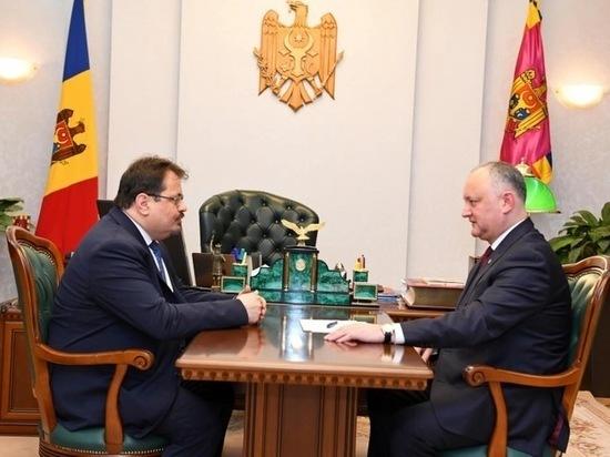 Игорь Додон ответил на недипломатичный выпад Петера Михалко