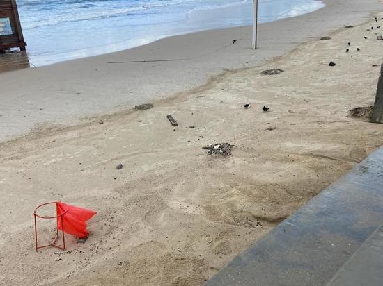 "Море Израиля пострадало от разлива мазута, ""моржей"" просят не ходить на пляж"