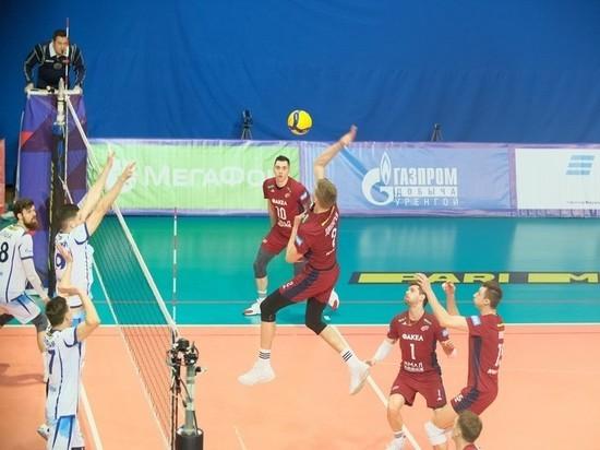 Волейболисты «Факела» из Нового Уренгоя обыграли санкт-петербургский «Зенит»