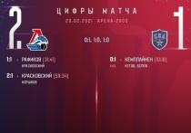 «Локомотив» победил СКА на своем поле