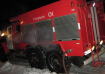 Вечером в Ивановской области сгорела подсобка