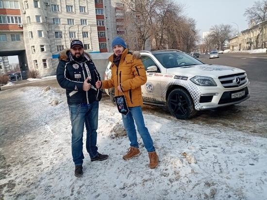 Тамбов посетил мотоблогер Александр Юнанов