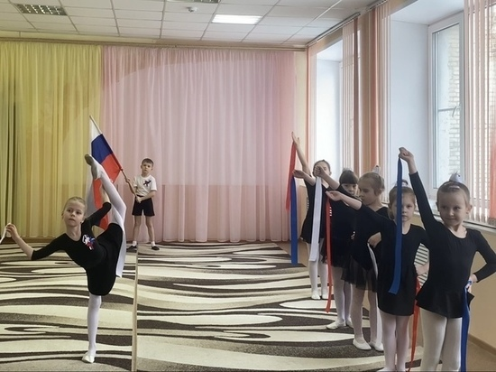 Тринадцать тамбовских детсадов приняли участие в «Гимнастраде»