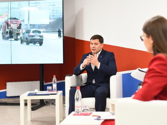 В Вологде прошла отчетная неделя для мэра города Сергея Воропанова