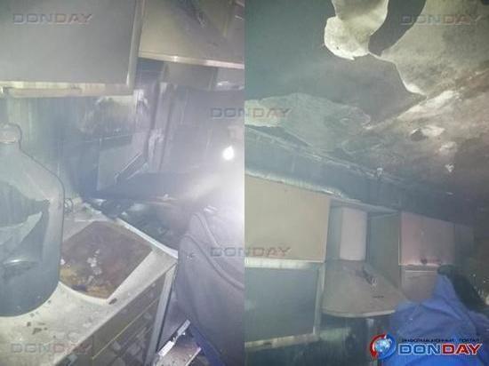 В Таганроге супружеская пара пострадала при пожаре в собственной квартире