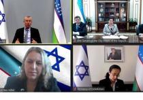 Главы парламентов Израиля и Узбекистана впервые провели переговоры