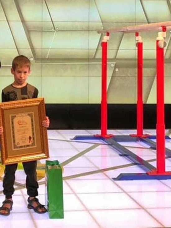 Мальчик из Чечни метит в Книгу рекордов Гиннеса