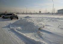 Омич пожаловался на плохую уборку снега управляющей компанией