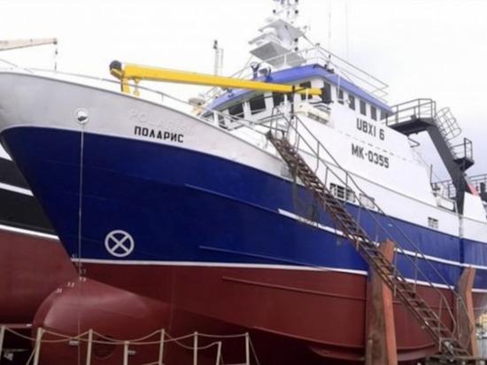 В Баренцевом море потеряло ход рыболовецкое судно МК 0335 «Поларис