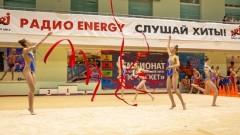Соревнования по художественной гимнастике в Петрозаводске превратилась в маленькую феерию