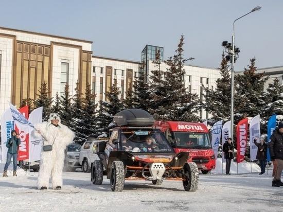 В Костроме побывали экипажи автопробега «Байкальская миля»