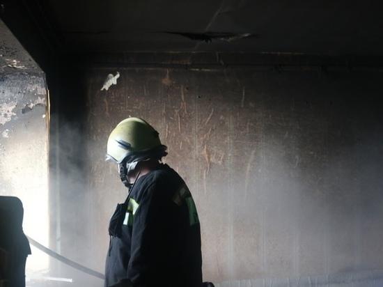 Из-за пожара на улице Павлова в Рязани эвакуировали 20 человек