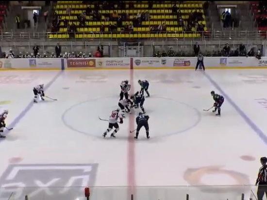 ХК «Тамбов» уступил в первом матче плей-офф