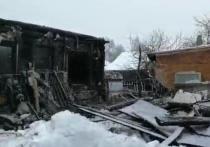 Два взрослых и два ребенка погибли при пожаре в деревне Пешково Богородского городского округа Подмосковья