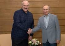 В Красной поляне состоялась встреча между президентами России и Белоруссии Владимиром Путиным и Александром Лукашенко