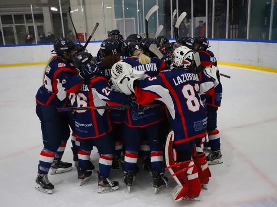 «Бирюса» пробилась в плей-офф Женской хоккейной лиги