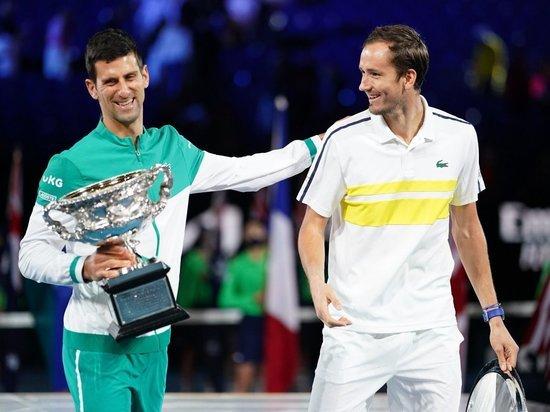 Наши теннисисты заработали в Мельбурне почти 4 миллиона долларов, больше всех досталось Медведеву