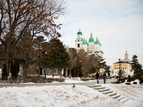 В Астрахани объявлено штормовое предупреждение из-за аномального мороза