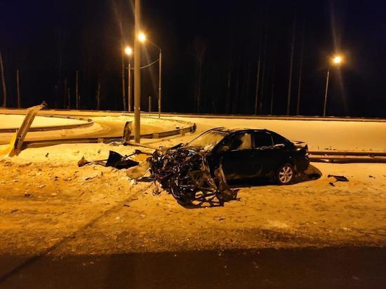 Два человека получили травмы на трассе в Тверской области