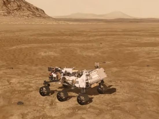 Perseverance передал записанные на поверхности Марса звуки