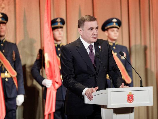 Алексей Дюмин поздравляет жителей Тульской области с Днем защитника Отечества