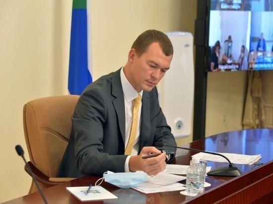 Итоги первого полугодия работы Михаила Дегтярева на посту врио губернатора подводит «МК» в Хабаровке»