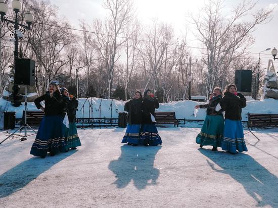 В честь Дня защитников Отечества сахалинцы превратились в казаков