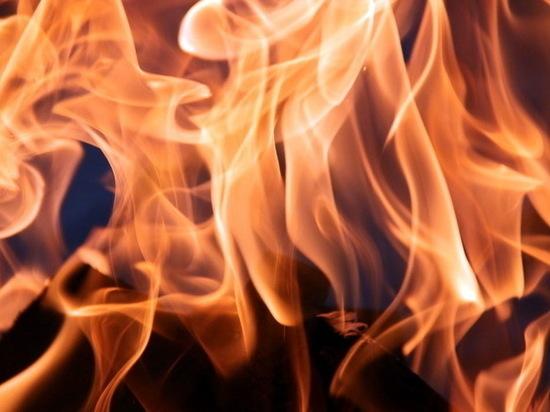 23 февраля в Йошкар-Оле загорелся автосервис