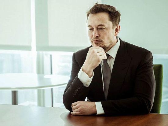 Илон Маск за сутки потерял 15 млрд долларов