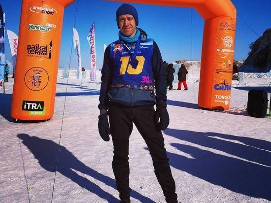 Красноярец Владимир Глазунов победил в престижном беговом марафоне на Ольхоне